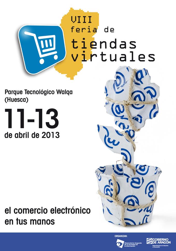 Cartel VII Feria de Tiendas Virtuales