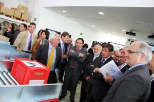 Inauguracion Centro Demostrador TIC Logistica Zaragoza