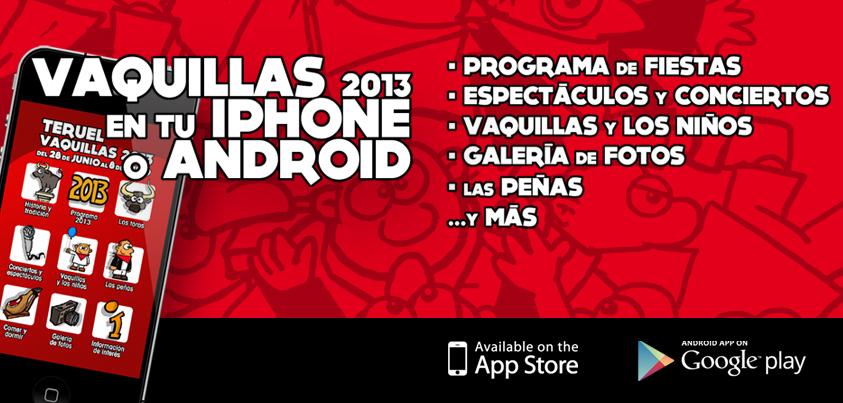 App de las Fiestas de la Vaqulla de Teruel 2013