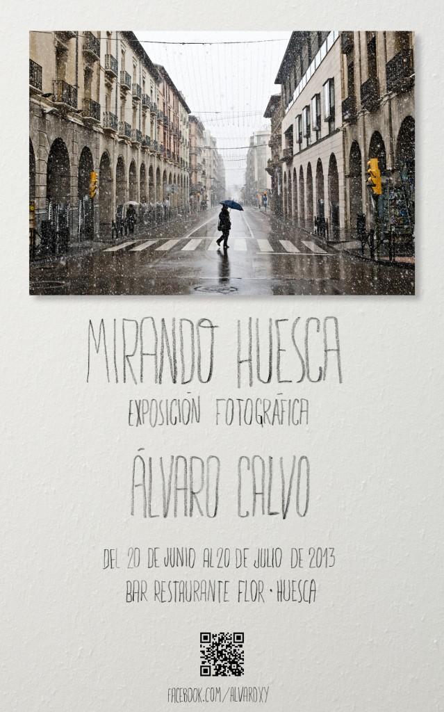 Exposicion de Alvaro Calvo en Huesca