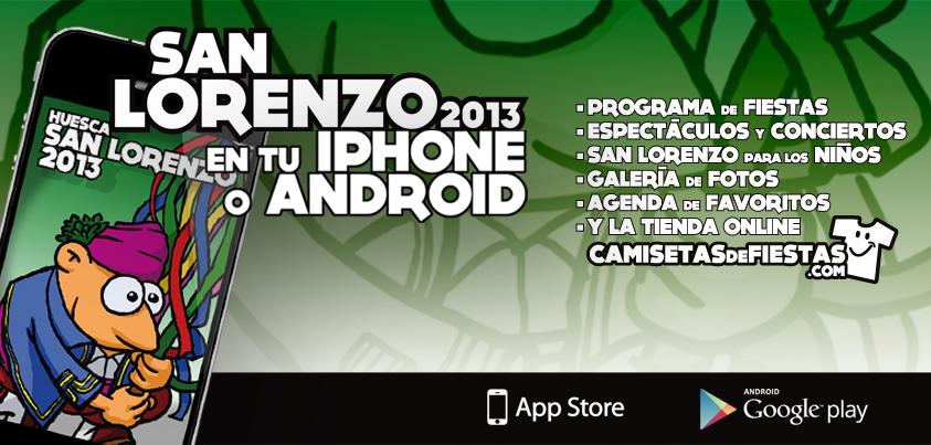 App de las Fiestas de San Lorenzo de Huesca 2013