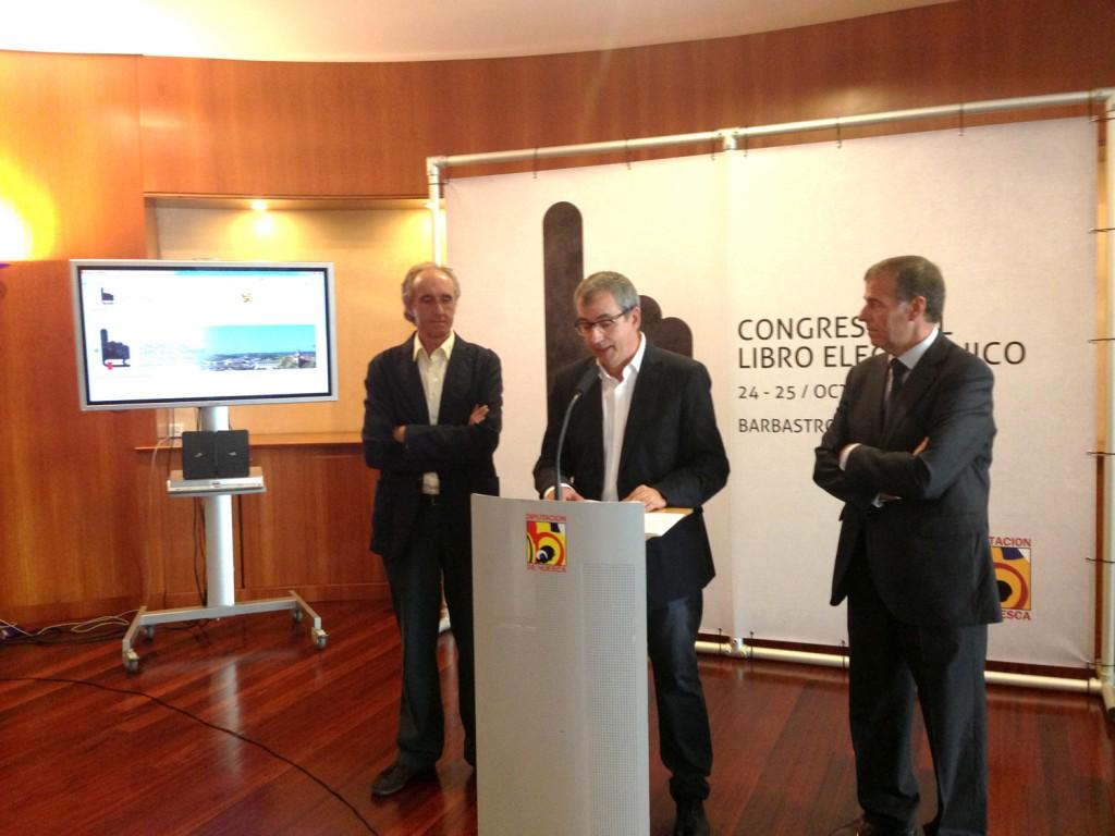 Rueda de Prensa I Congreso Libro Electrónico