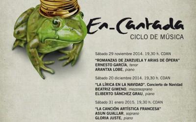 CICLO DE MUSICA EN-CANTADA